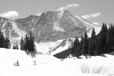 White River Photograph - A Mountain Is A Buddha by Eric Glaser
