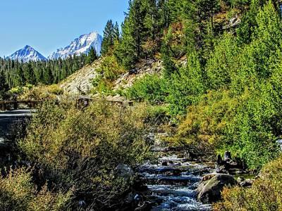 Photograph - A Mountain Scene by Marilyn Diaz