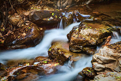 Photograph - A Mountain Stream  by Saija Lehtonen
