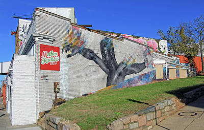 Photograph - A Mural On Bladensburg Road by Cora Wandel