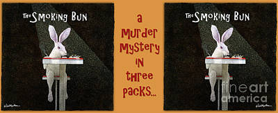 Painting - A Murder Mystery In Three Packs... by Will Bullas