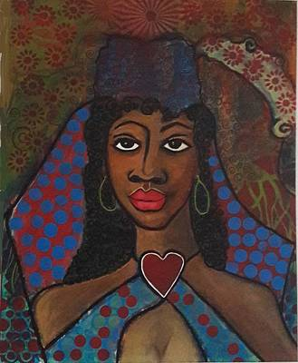 Painting - A Muse Me by Phyllis Anne Taylor Pannet Art Studio