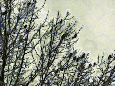 Photograph - A Museum Of Waxwing by Leslie Montgomery