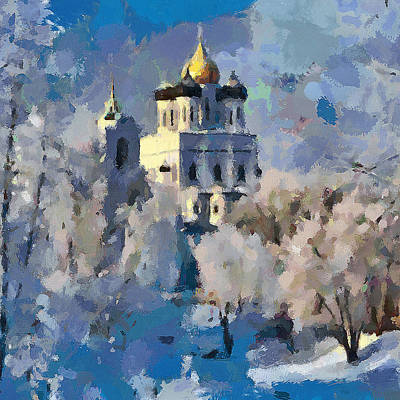 Photograph - A Mystery Of Winter Church by Yury Malkov