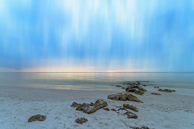Photograph - A Naples Seascape #13 by Christopher L Thomley