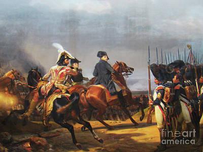 A Napoleonic War At Versailles Art Print by Al Bourassa