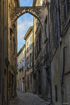Photograph - A Narrow Street In Viviers by Allen Sheffield