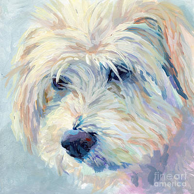 Breed Wall Art - Painting - A Natural Blonde by Kimberly Santini