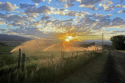 Photograph - A New Dawn In The Ruby Valley by Jennie Marie Schell