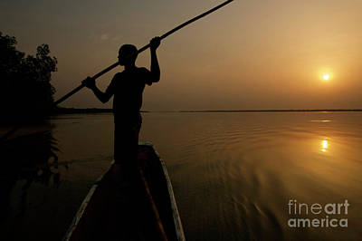 Photograph -  A New Day at Dawn - Sierra Leone by Julian Wicksteed