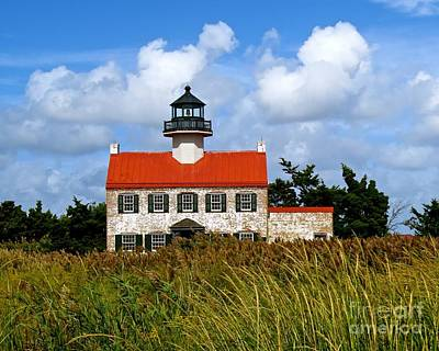 Photograph - A New Day At East Point Light by Nancy Patterson