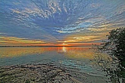 Photograph - A New Day Begins by HH Photography of Florida