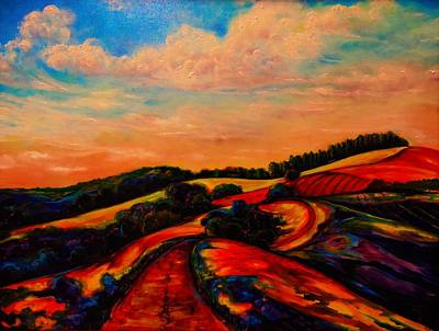 Painting - A New Day Dawning by Emery Franklin