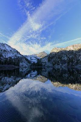 Photograph - A New Day Greets Eagle Lake by Sean Sarsfield