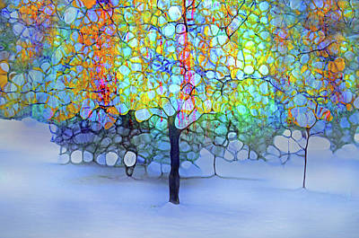 Digital Art - A New Day In Winter by Tara Turner