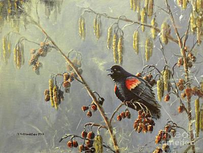 Painting - A New Day by Valentin Katrandzhiev