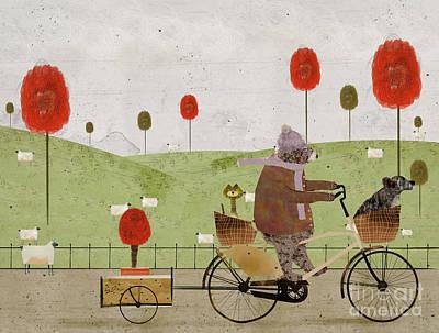 Painting - A New Poppy Tree by Bleu Bri