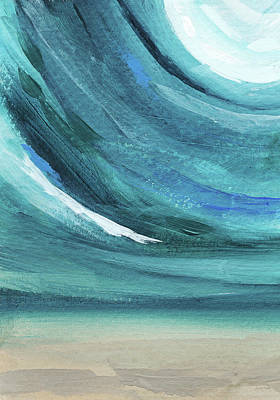 Waves Painting - A New Start- Art By Linda Woods by Linda Woods