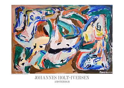 A New Time A New Decade Original by Johannes Holt-Iversen