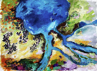 Painting - A New World Travel Log 11 by Ginette Callaway