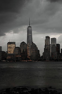 Photograph - A New York Mood by Anthony Fields