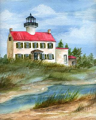 Painting - A Nice Day At The Point  by Nancy Patterson