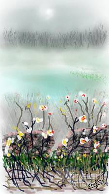 Digital Art - A Nice Landscape by Subrata Bose