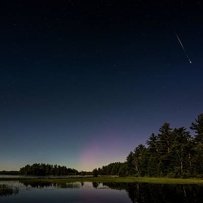 Photograph - A Night At The Lake by Brent L Ander