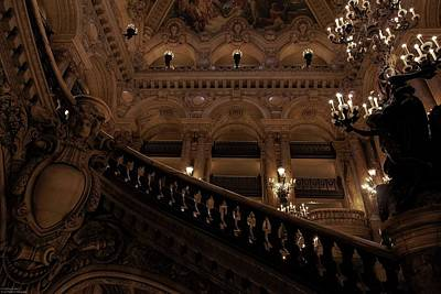 Photograph - A Night At The Opera - 2 by Hany J