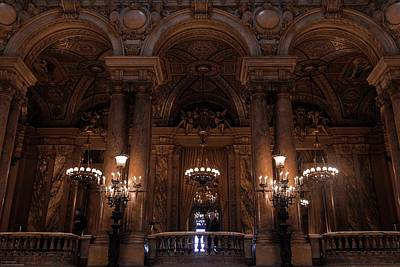 Photograph - A Night At The Opera - 4 by Hany J