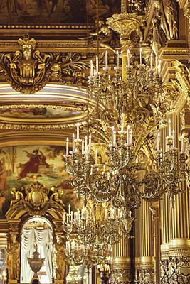 Photograph - A Night At The Opera - Paris, France by Melanie Alexandra Price