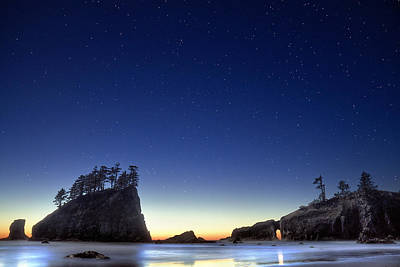 United States Map Designs - A night for stargazing by William Freebilly photography