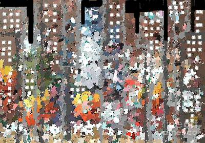 A Night In Chicago Art Print by Don Phillips