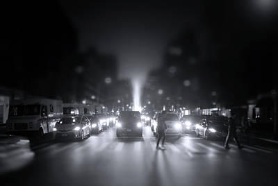 Photograph - A Night In Manhattan by Mark Andrew Thomas