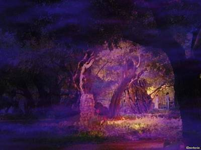 Art Print featuring the photograph A Night Of Weeping In The Garden Gethsemane Israel 2008 by Anastasia Savage Ealy