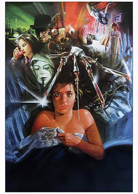 Elm Digital Art - A Nightmare On Elm Street 1984 by Caio Caldas