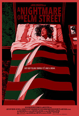 Horror Digital Art - A Nightmare On Elm Street Alternative Poster by Christopher Ables