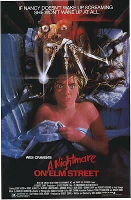 Scary Digital Art - A Nightmare On Elm Street by Fine Artist