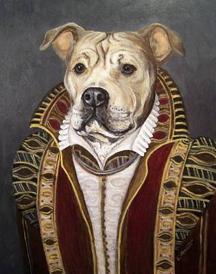 Tapestry - Textile - A Nobledog by Laura Aceto