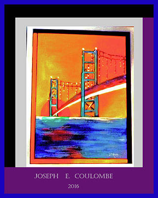 Digital Art - A Nor Cal Bridge by Joseph Coulombe