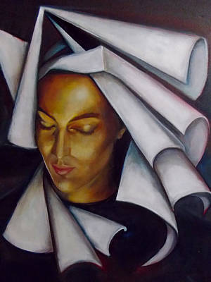 Painting - A Nun by Irena Mohr
