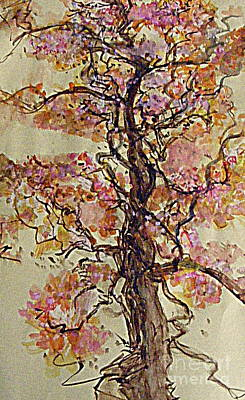 Digital Art - A Oak Dressed Up For Easter by Nancy Kane Chapman