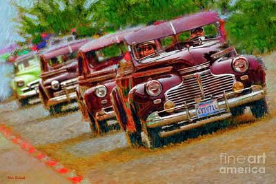 Photograph - A Old Car Cruz by Blake Richards