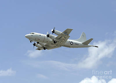 Transportation Royalty-Free and Rights-Managed Images - A P-3c Orion Aircraft Takes by Stocktrek Images