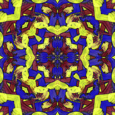 Digital Art - A P R -month- -pattern- by Coded Images
