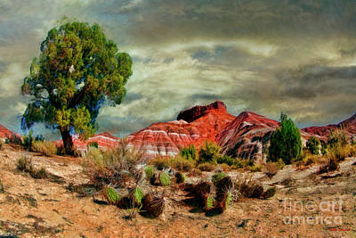 Photograph - A Pahreah Ghost Town Scene by Blake Richards