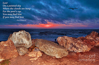 Black Is Beautiful Wall Art - Photograph - A Painted Sky For The Poet's Eye by Jim Fitzpatrick