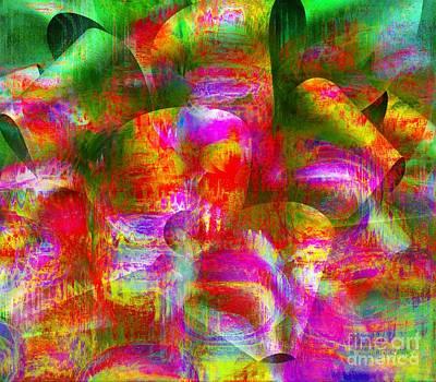 Visionary Art Display Digital Art - A Painter's Gift by Fania Simon