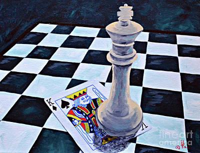 A Pair Of Kings Original by Herschel Fall