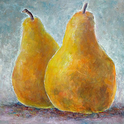 Painting - A Pair Of Pears by Jill Musser